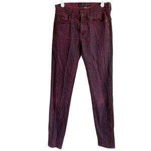 Cigarette Jean Skinny Pant Size 26 Black Label